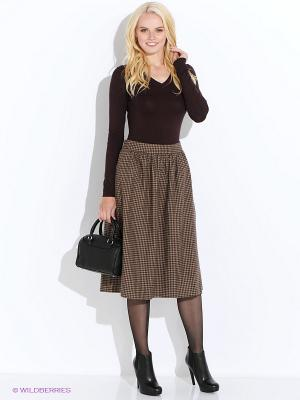 Пуловер Baon. Цвет: коричневый