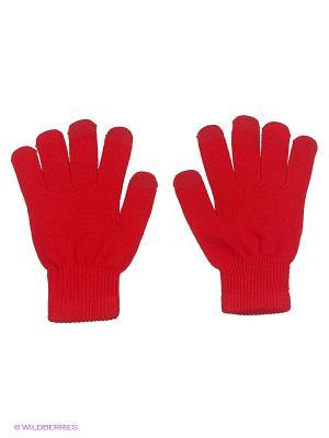 Перчатки GREZZO. Цвет: красный