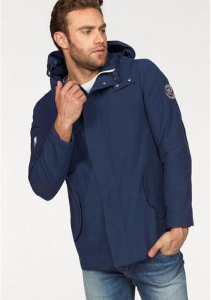 Куртка Rhode Island. Цвет: синий