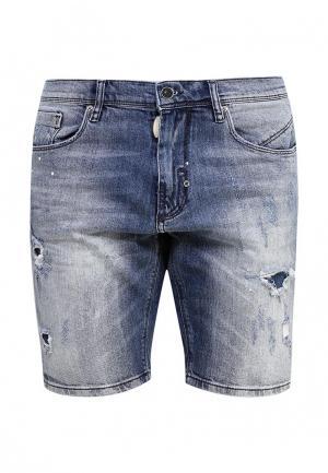 Шорты джинсовые Antony Morato. Цвет: голубой
