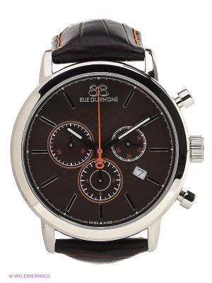 Часы Rue du Rhone. Цвет: серебристый, коричневый