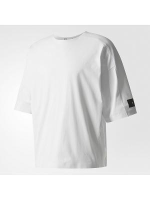 Футболка спортивная муж. M SKYLIGHT SS T Adidas. Цвет: белый