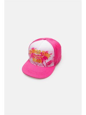 Бейсболка ACOOLA. Цвет: розовый, белый