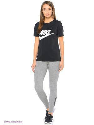Футболка W NSW SIGNAL TEE LOGO Nike. Цвет: черный