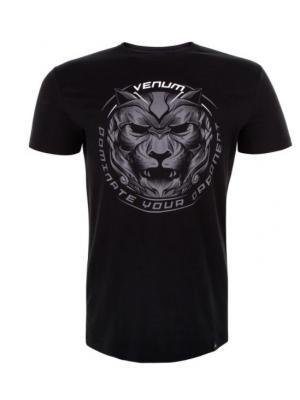 Футболка Venum Bloody Roar Black/Grey. Цвет: черный, серый
