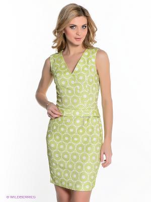 Платье Capriz. Цвет: салатовый
