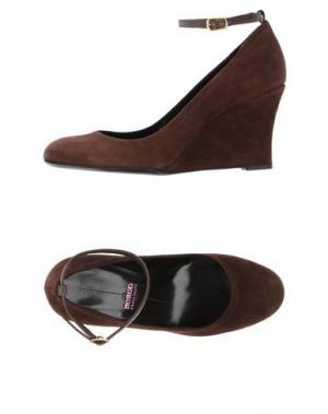 Туфли BORGO DEGLI ULIVI. Цвет: коричневый