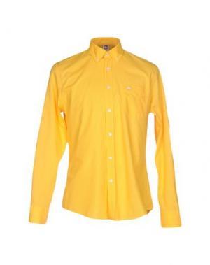 Pубашка MURPHY & NYE. Цвет: желтый