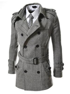 Пальто VipDressCode. Цвет: серый