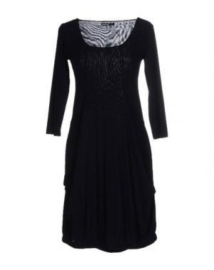 Короткое платье ALMERIA. Цвет: темно-синий