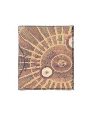 Бумажник GATTINONI. Цвет: желто-коричневый