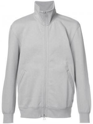 Спортивная куртка на молнии Adidas X Wings + Horns. Цвет: серый