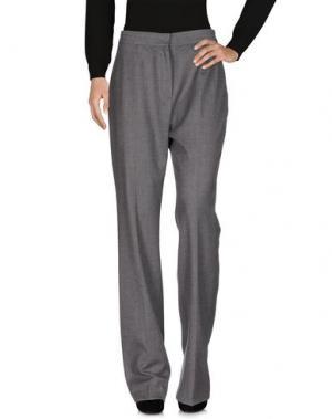 Повседневные брюки FONTANA COUTURE. Цвет: свинцово-серый