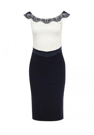 Платье Hybrid. Цвет: синий