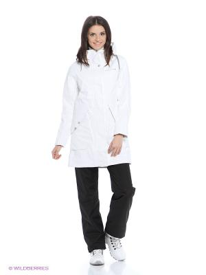 Куртка TUVA DIDRIKSONS. Цвет: белый