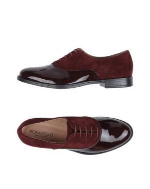 Обувь на шнурках FIORANGELO. Цвет: красно-коричневый