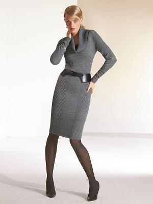 Платье Madeleine. Цвет: серый
