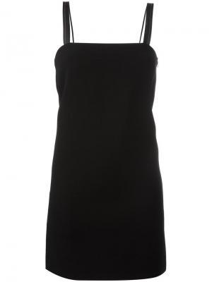 Короткое платье Helmut Lang. Цвет: чёрный