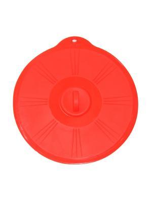 Крышка силиконовая универсальная DiMi. Цвет: красный