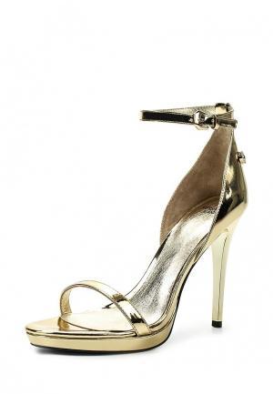 Босоножки Versace Jeans. Цвет: золотой