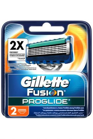 Кассеты GilletteFusion, 2 шт GILLETTE. Цвет: none