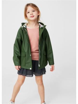 Куртка - LUCY Mango kids. Цвет: хаки