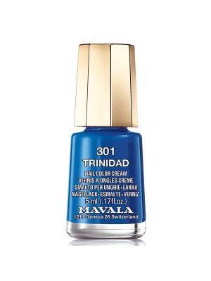 Лак для ногтей тон 301 Trinidad Mavala. Цвет: синий