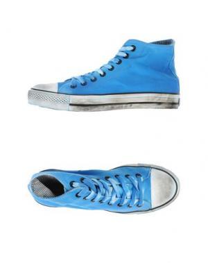Высокие кеды и кроссовки 2STAR. Цвет: лазурный
