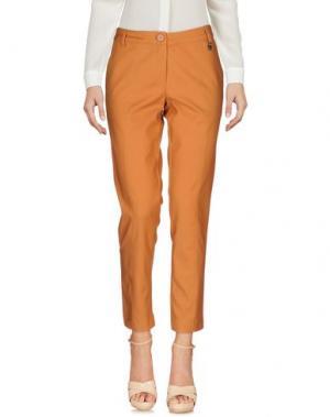 Повседневные брюки KORALLINE. Цвет: оранжевый