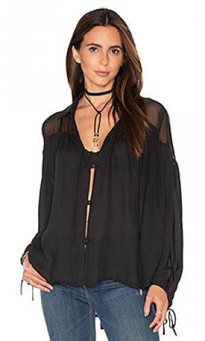 Блузка talisa sen. Цвет: черный