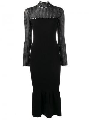 Платье Ascher Roland Mouret. Цвет: чёрный