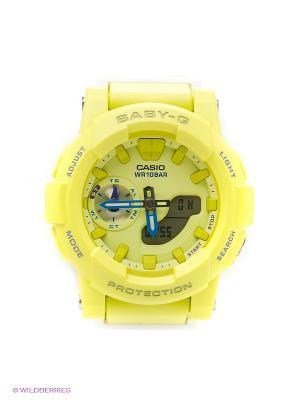 Часы Baby BGA-185-9A CASIO. Цвет: салатовый