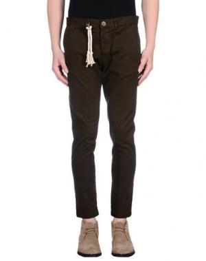 Повседневные брюки BASICON. Цвет: темно-зеленый