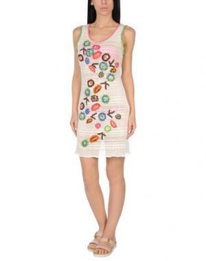 Пляжное платье ANJUNA. Цвет: слоновая кость