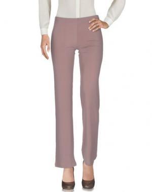 Повседневные брюки ALESSANDRO LEGORA. Цвет: светло-коричневый