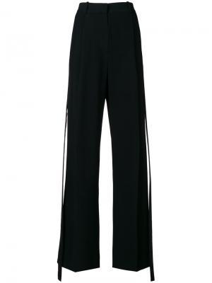 Side stripe tailored trousers Givenchy. Цвет: чёрный