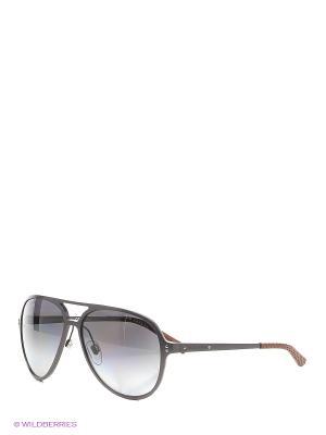 Солнцезащитные очки RALPH LAUREN. Цвет: темно-серый