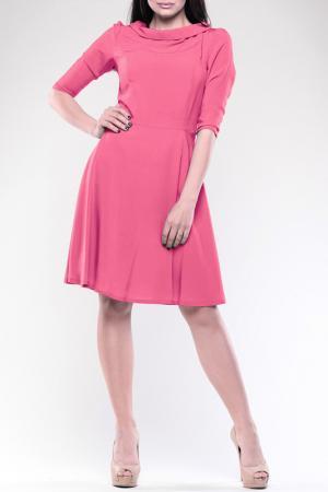 Платье REBECCA TATTI. Цвет: коралловый
