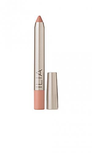 Губная помада lipstick Ilia. Цвет: nude