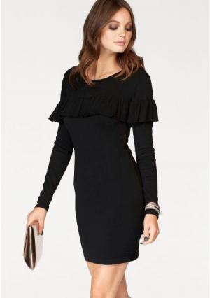 Платье MELROSE. Цвет: темно-зеленый, черный
