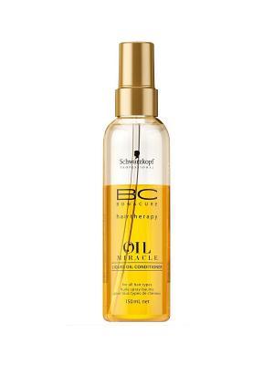 Спрей-Кондиционер BC Oil Miracle Liquid 150 мл Schwarzkopf Professional. Цвет: золотистый