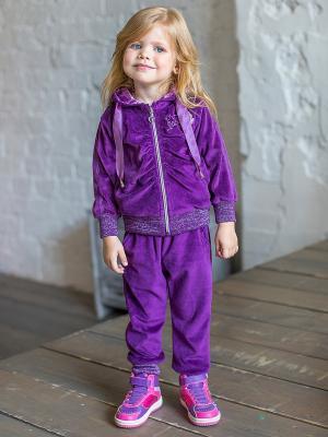 Спортивный костюм Sweet Berry. Цвет: фиолетовый