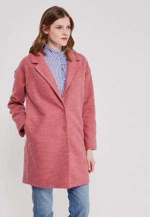 Пальто Marks & Spencer. Цвет: розовый