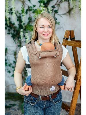 Эргономичный рюкзак Шоко Sling Me. Цвет: темно-коричневый