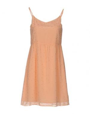 Короткое платье DES PETITS HAUTS. Цвет: розовый