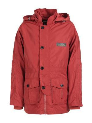 Куртки Arista. Цвет: терракотовый