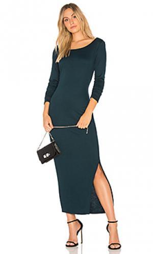 Платье patty CHARLI. Цвет: бирюзовый