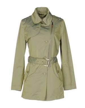 Легкое пальто MABRUN. Цвет: зеленый-милитари