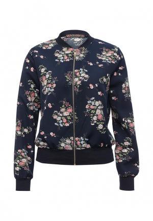 Куртка QED London. Цвет: синий