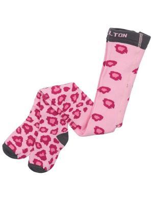 Колготки детские MELTON. Цвет: розовый